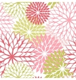 Seamless pattern with hand draw flowers floral vector image