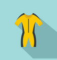 thermo river clothes icon flat style vector image
