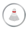 Badminton icon cartoon Single sport icon from the vector image vector image