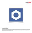 bolt icon - blue photo frame vector image
