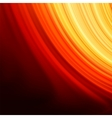 Red smooth twist light lines background EPS 8 vector image