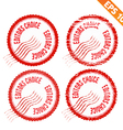 Rubber stamp editor choice - - EPS10 vector image vector image