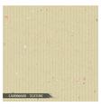 Simple cardboard texture vector image