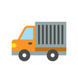 simple truck icon vector image vector image