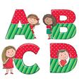 Alphabet kids ABCD