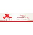 Valentine Design Background vector image