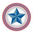 american star icon logo symbol vector image vector image
