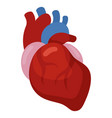 heart icon cardiology and medicine health symbol vector image