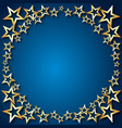 holiday background stars vector image