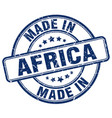 made in africa vector image vector image