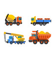 Tipper truck and construction crane industry