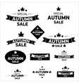 autumn special sale vintage sticker collection vector image