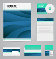 branding design template vector image