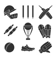 Cricket game concept vector image vector image