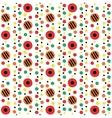 Dymkovo seamless pattern vector image vector image
