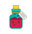 potion flat vector image