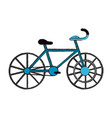 sport vintage bike vector image vector image