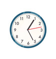 wall clock contemporary vector image