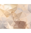 Abstract polygonal background in pastel colors vector image vector image