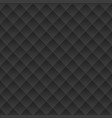 black geometric texture vector image vector image