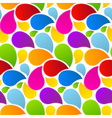 Colorful Retro Abstract Liquid Seamless Pattern vector image vector image
