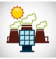 ecological alternative energy green vector image vector image