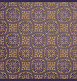 luxury ornamental background in gold color vector image