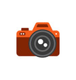 photo icon - tool for video or photo fixation vector image vector image