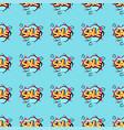 pop art comic speech bubble boom effects seamless vector image