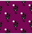 Seamless Pattern Halloween Ghost vector image