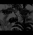 seamless pattern on a dark gray background of vector image vector image