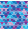 winter triangle pattern 28 vector image vector image