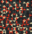 Abstract multicolor square backgroun vector image