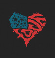 american love symbol valentine day vector image vector image