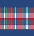asymmetrical abstract check plaid seamless pattern vector image vector image