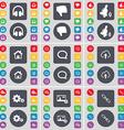 Headphones Dislike Bell House Chat bubble Cloud vector image vector image