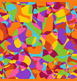 overlapping and divided shapes seamless pattern vector image vector image