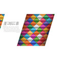 paper origami style - paper background vector image