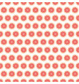 seamless pattern with grapefruit vector image vector image