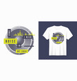 some noise t-shirt and apparel trendy design with vector image