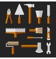 Tools Set for Home Repair vector image vector image