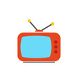 tv icon - television screen - entertainments vector image vector image