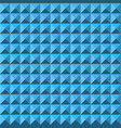 blue abstract relief pyramid texture seamless vector image