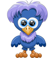 Blue chick vector image