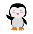 cute animal cartoon icon image vector image vector image