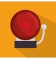 doorbell school ring icon vector image