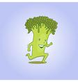 Fresh broccoli 01 vector image vector image