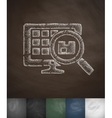 warehouse icon Hand drawn vector image vector image