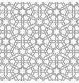 Arabian delicate pattern vector image vector image