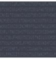 Modern seamless pattern with linear letters